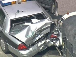 Trooper OK After Being Rammed by Unlicensed Driver