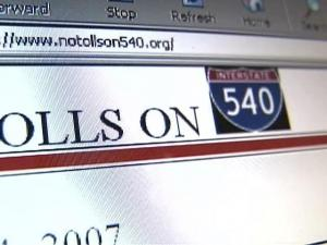 Man Takes Fight Over I-540 Toll Roads to Web