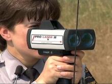 Laser Technology Being Used to Track Speeders