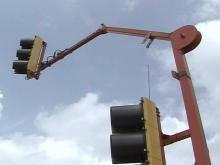 Portable Traffic Lights Make Work Zone Traffic Safer
