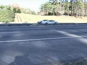 I-40 Shoulder, highway shoulder