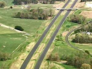 Clayton Bypass from Sky 5