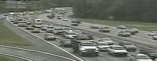 IMAGE: Traffic Thins Out After Delays on I-440