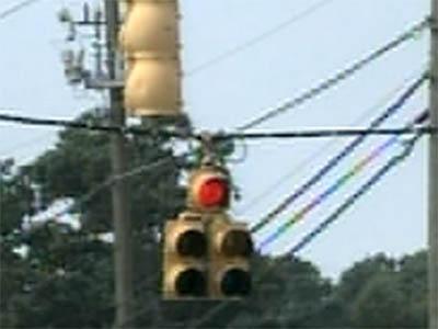 Generic red light, traffic signal, stoplight
