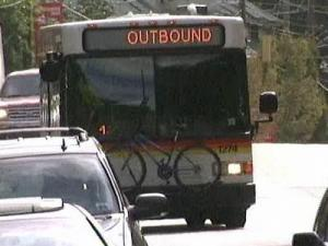 The Triangle Transit Authority says bus ridership has significantly increased in recent months. Passengers say mass transit is a cheaper, and some say less stressful on their daily commutes.