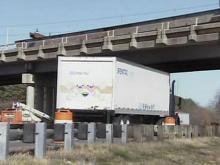 Bridges raised to elude tall trucks