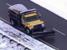 DOT salt truck clearing I-540
