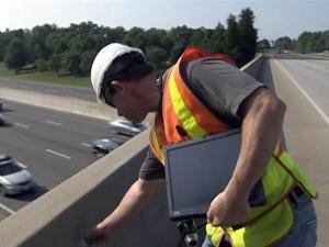 DOT bridge inspector