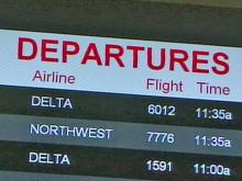 Flights canceled at RDU from winter storm