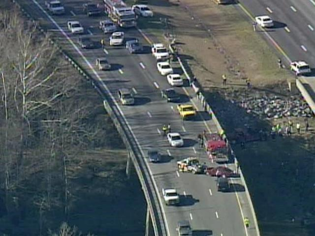 Eastbound traffic on the U S  64 bypass in Edgecombe County was