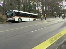 CAT bus falls into sinkhole