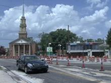 Five Points road resurfacing