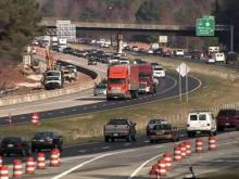 Work progressing on adding lanes to I-40