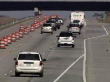 Drivers divided on success of lane closure on I-40