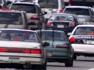 I-540 congestion