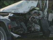 Six injured in Garner crash