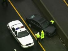Wet roads cause string of wrecks on I-40 in Durham