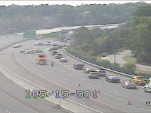Traffic camera: Durham I-85 shutdown