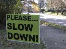 Please Slow Down