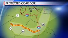 Protected corridor for Interstate 540