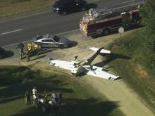 Plane crashes near Apex