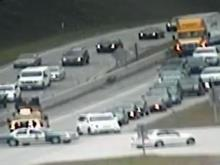 Traffic camera image: I-540 and Glenwood. Oct. 16, 2013
