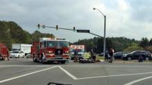 IMAGE: Motorcyclist dies after running red light in Durham, troopers say