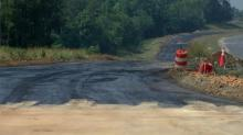 Rolesville U.S. Highway 401 bypass construction