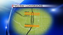 IMAGE: More downtown Raleigh streets to be converted to two-way traffic