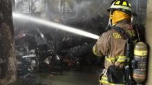 I-95 truck fire