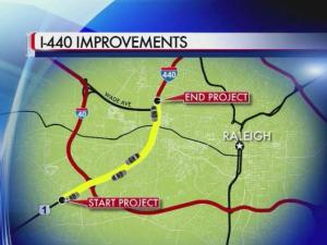 An overhaul of Interstate 440 from Walnut Street in Cary to north of Wade Avenue in Raleigh is coming in 2018, the North Carolina Department of Transportation says.