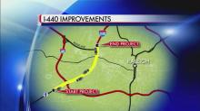 IMAGES: Next big I-440 project tentatively planned for 2018