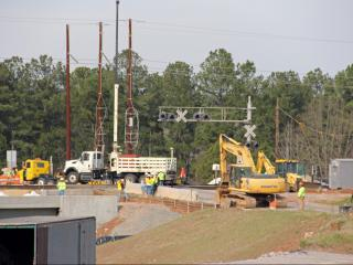 The North Carolina Department of Transportation began work Monday on a six-month construction project along Morrisville Parkway that will create a traffic headache for drivers that use the road to go between N.C. Highway 54 and Davis Drive or N.C. Highway 55.