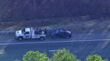 IMAGES: Wreck closes I-40 in Chapel Hill at 15/501