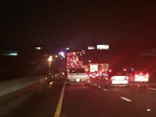 According to the Alamance County Sheriff's Office, there were multiple accidents involving multiple vehicles on I-40 Sunday night.