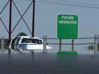 A new interstate will ease travel in eastern North Carolina.