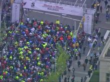 Sky 5: Rock n Roll marathon start
