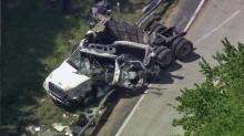 IMAGES: I-85 reopens after wreck involving tractor-trailer