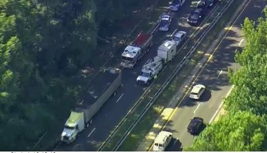 Truck accident closes I-440 westbound lanes :: WRAL com