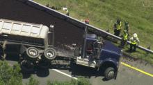 IMAGE:  US 1 reopens in Apex after sewage truck crash