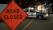 IMAGES: Six Forks Road remains closed through Wednesday evening after water main break