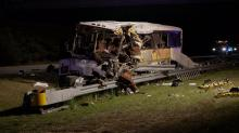 IMAGE: Focus turns to tires in investigation of bus crash