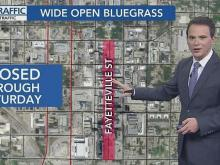 Wide Open Bluegrass causes road closures in Raleigh
