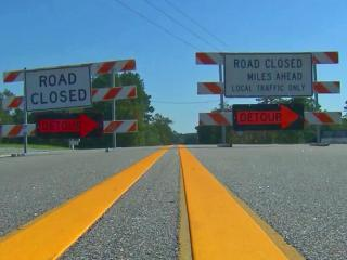 Across the state, hundreds of roads remain closed, blocked by high water, downed trees and debris or both.