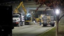 IMAGES: Capital Boulevard reopens Tuesday night after water main break