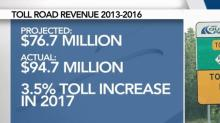 IMAGE: As Triangle toll road revenue beats expectation, prices still rise