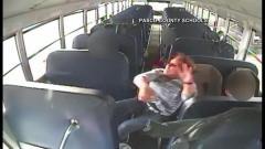 Bus t-boned by truck