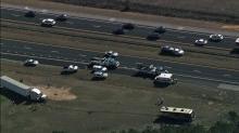Serious wreck shuts down I-95 South near Benson