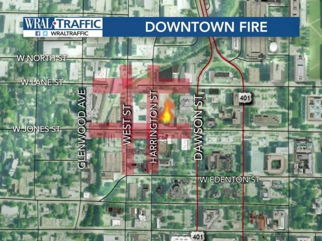 Downtown Raleigh streets, businesses remain closed after fire ...
