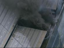 Fire collapses I-85 in Atlanta